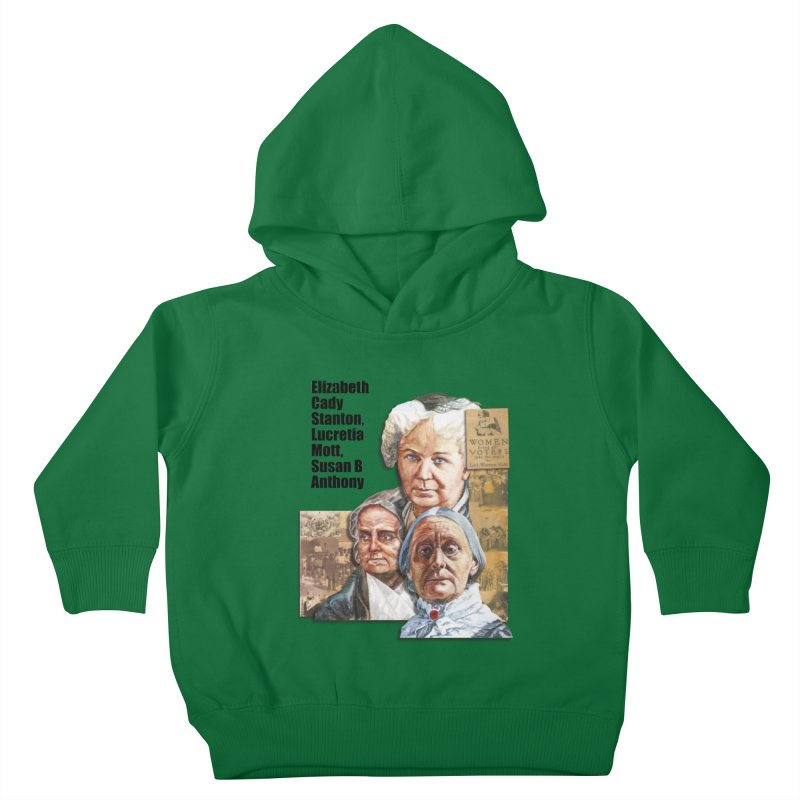 Women's Suffrage Kids Toddler Pullover Hoody by Afro Triangle's