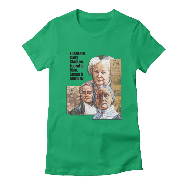 Women's Suffrage Women's T-Shirt by Afro Triangle's