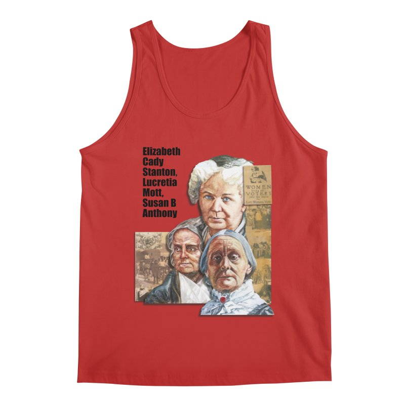 Women's Suffrage Men's Regular Tank by Afro Triangle's
