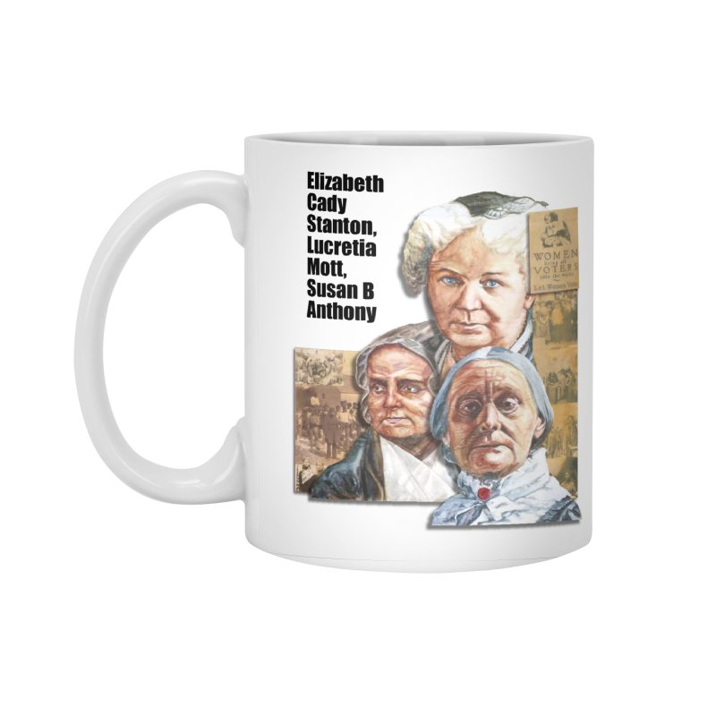 Women's Suffrage Accessories Standard Mug by Afro Triangle's