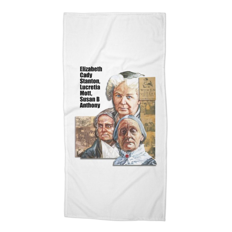 Women's Suffrage Accessories Beach Towel by Afro Triangle's