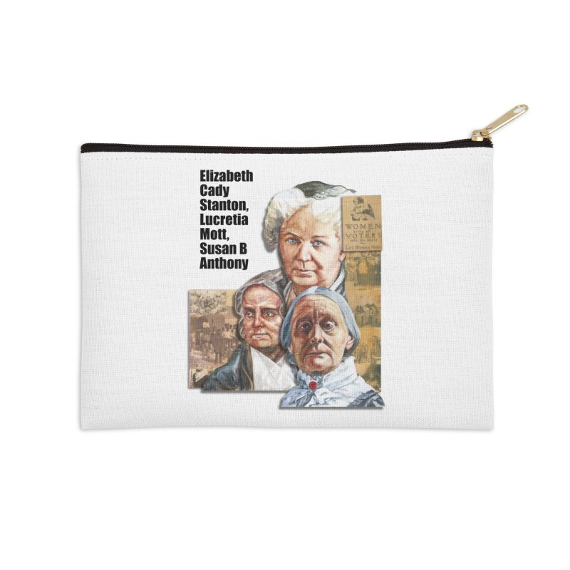 Women's Suffrage Accessories Zip Pouch by Afro Triangle's