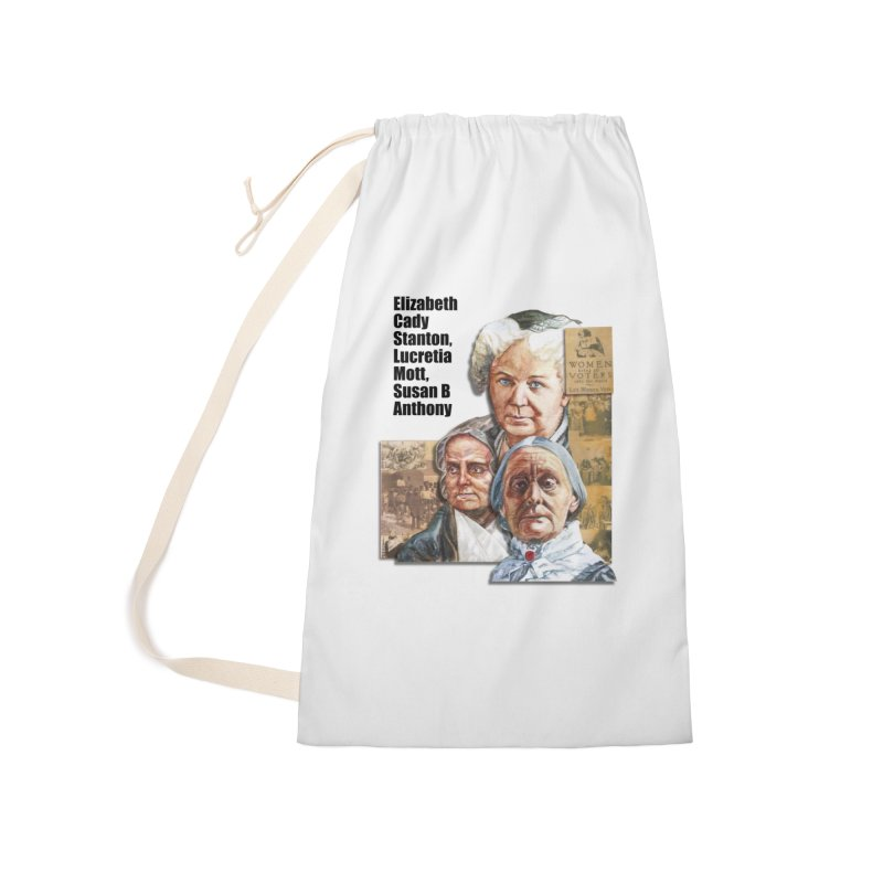 Women's Suffrage Accessories Laundry Bag Bag by Afro Triangle's