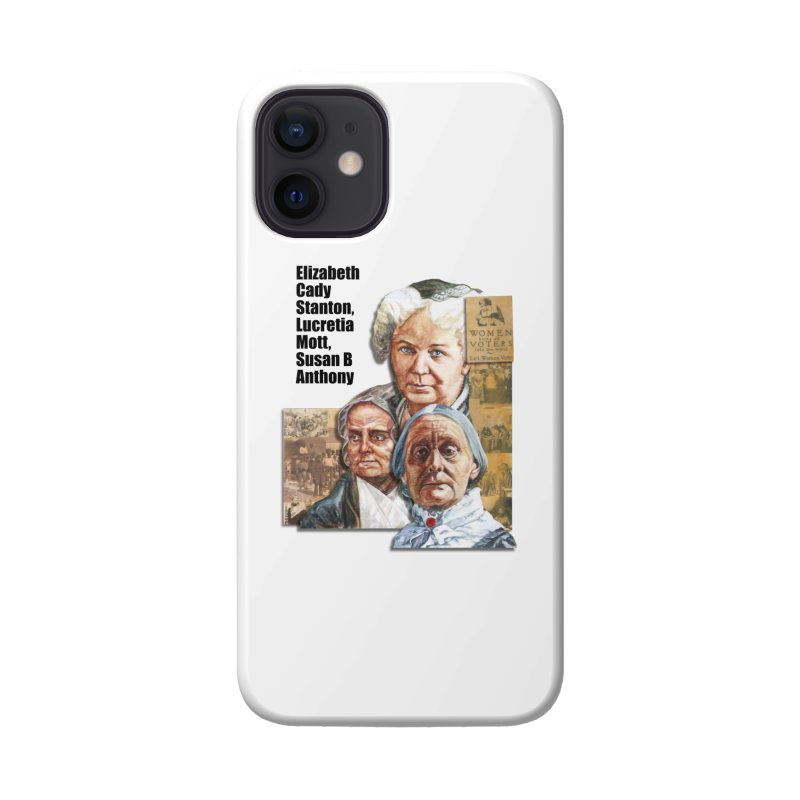 Women's Suffrage Accessories Phone Case by Afro Triangle's