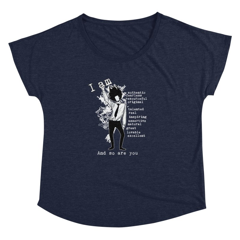 I Am Man Women's Dolman by Afro Triangle's