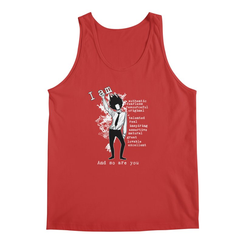 I Am Man Men's Tank by Afro Triangle's