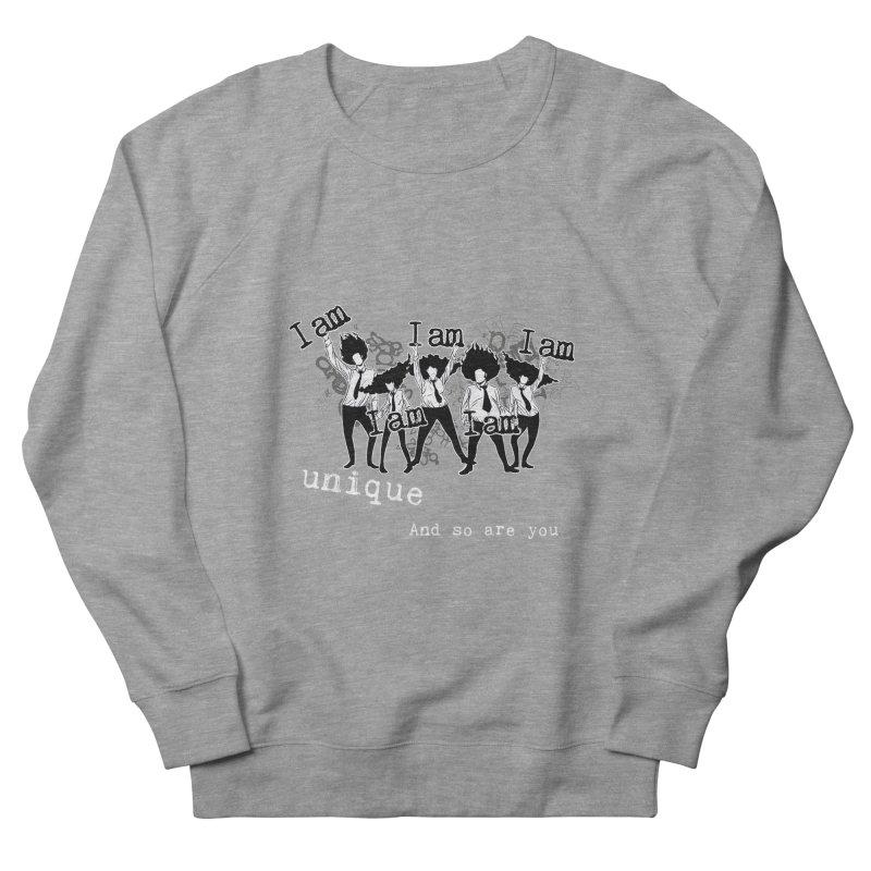 I Am Unique Men's Sweatshirt by Afro Triangle's