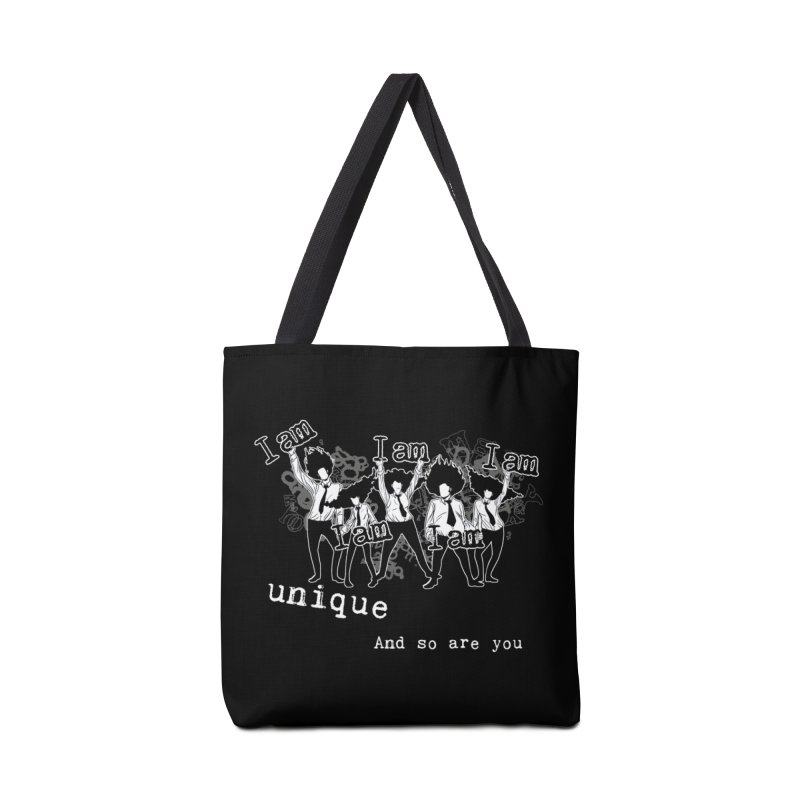 I Am Unique Accessories Bag by Afro Triangle's