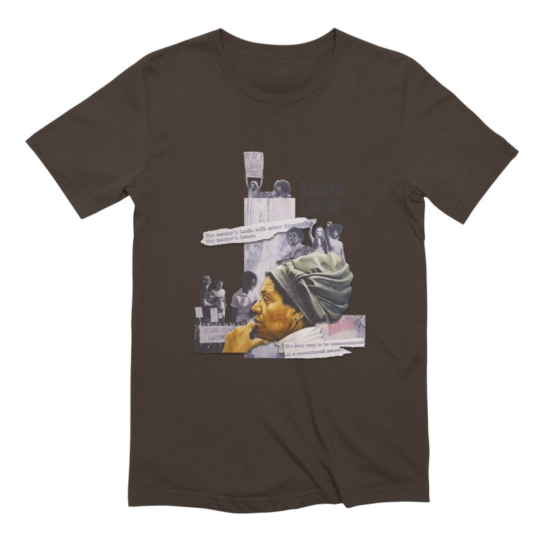 Audre Lorde Men's Extra Soft T-Shirt by Afro Triangle's