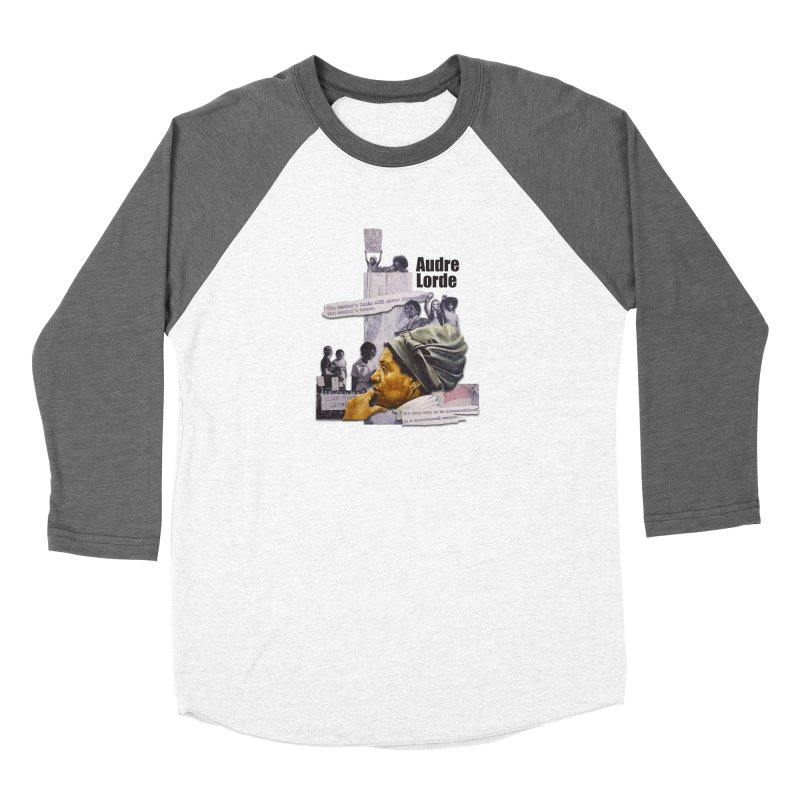 Audre Lorde Women's Longsleeve T-Shirt by Afro Triangle's