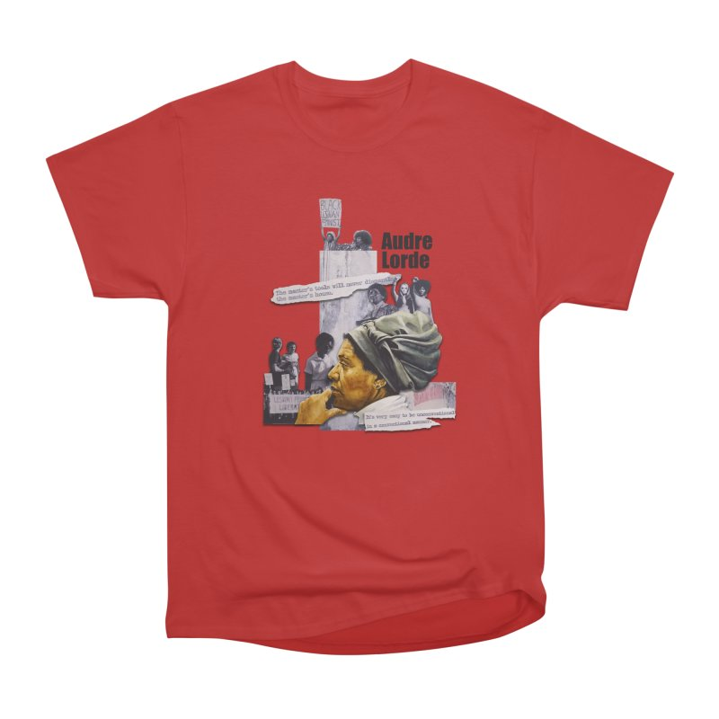 Audre Lorde Men's Heavyweight T-Shirt by Afro Triangle's