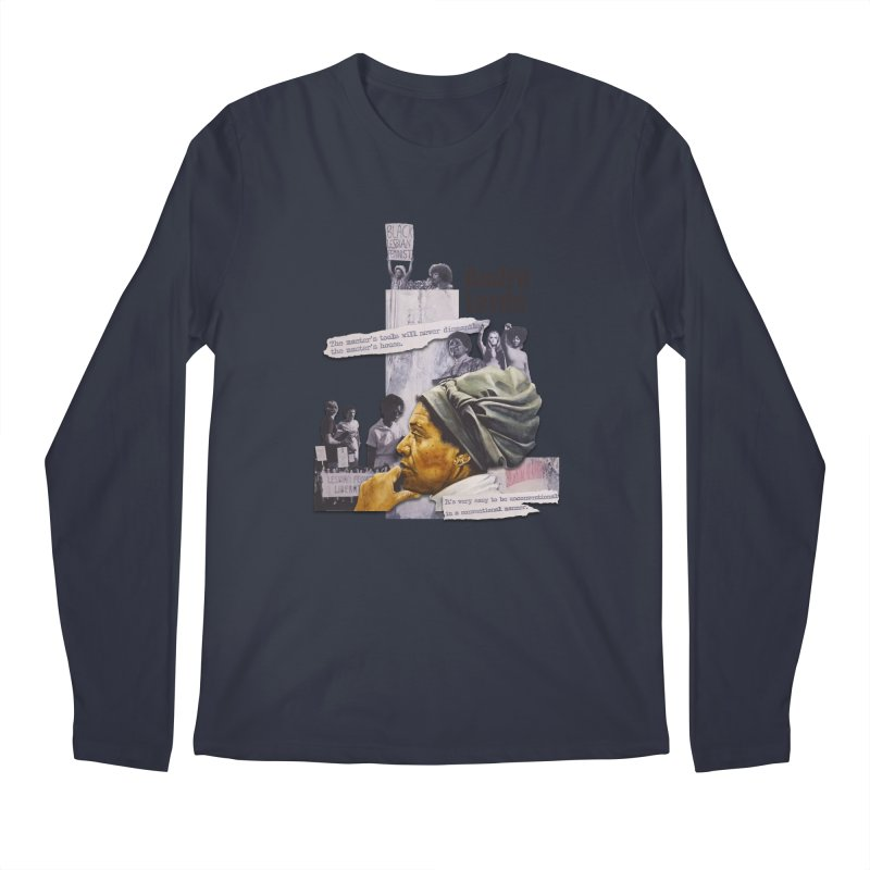 Audre Lorde Men's Regular Longsleeve T-Shirt by Afro Triangle's
