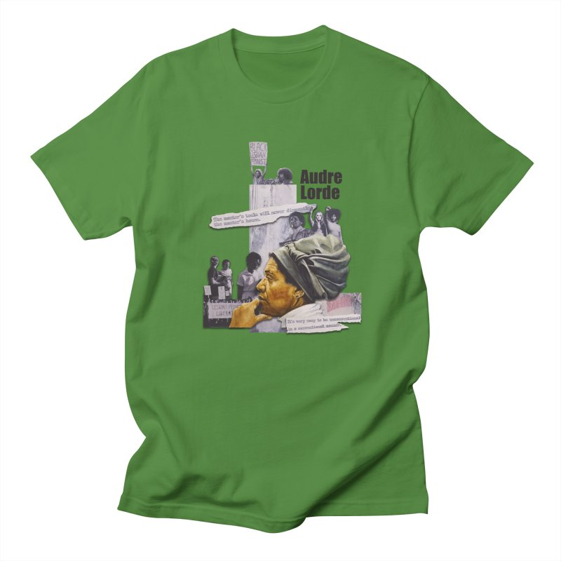 Audre Lorde Men's T-Shirt by Afro Triangle's