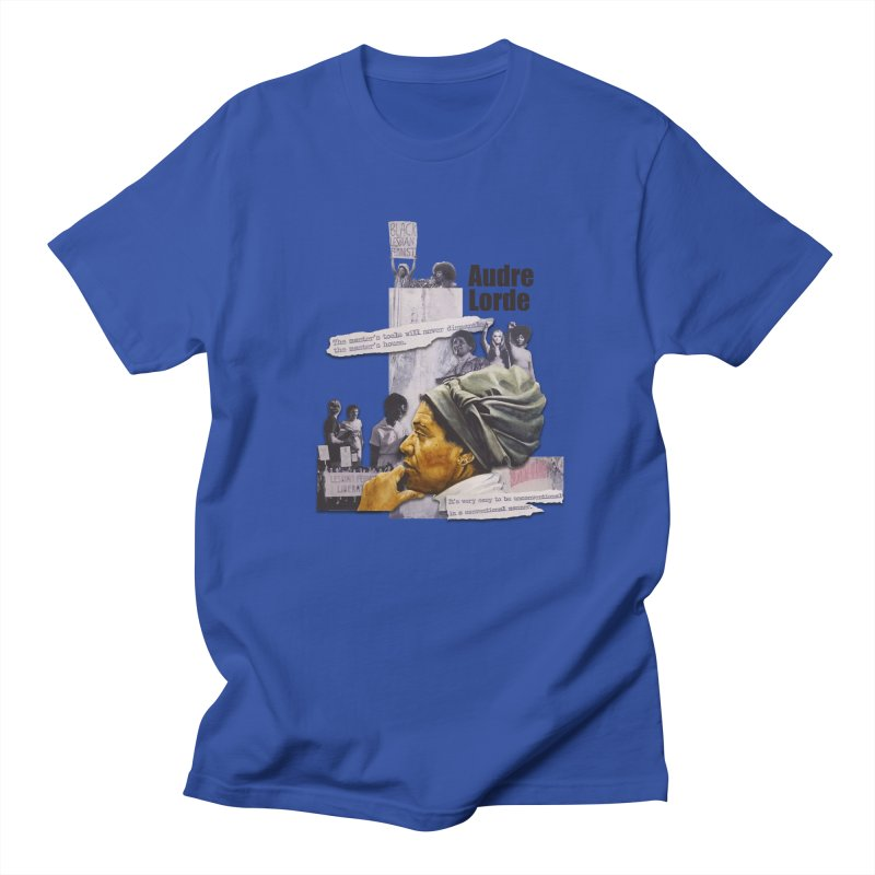 Audre Lorde Men's Regular T-Shirt by Afro Triangle's