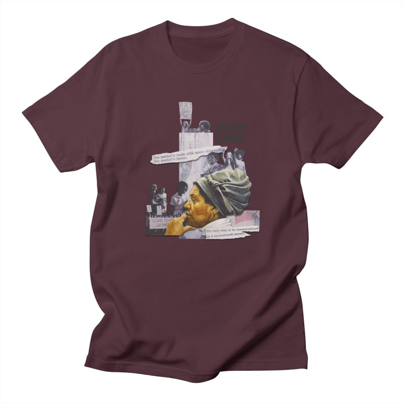 Audre Lorde Women's Regular Unisex T-Shirt by Afro Triangle's