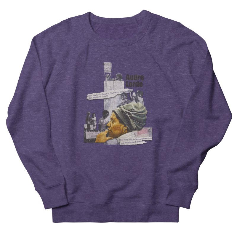 Audre Lorde Men's Sweatshirt by Afro Triangle's