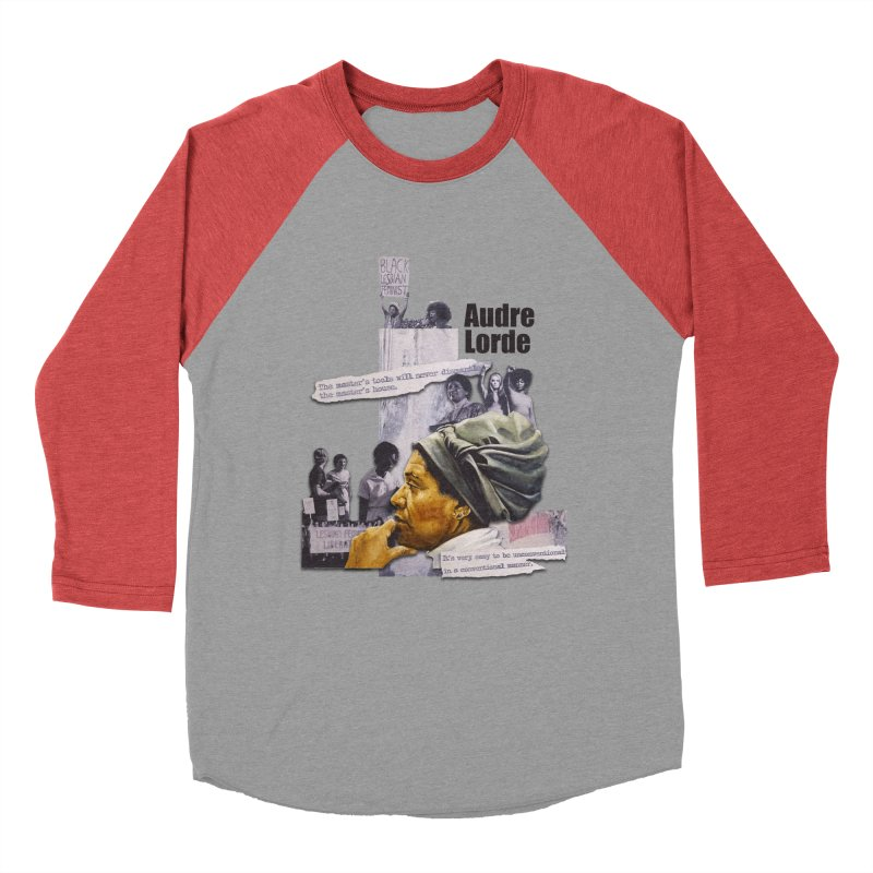 Audre Lorde Men's Longsleeve T-Shirt by Afro Triangle's