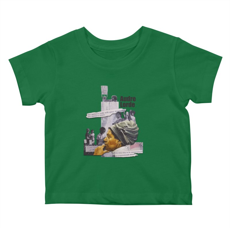 Audre Lorde Kids Baby T-Shirt by Afro Triangle's