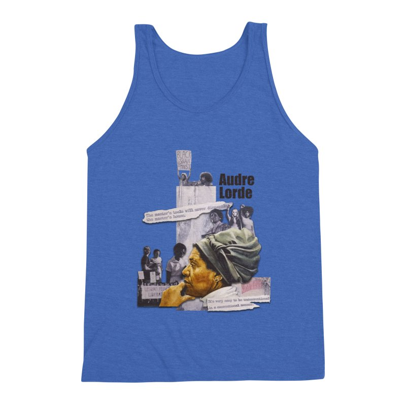 Audre Lorde Men's Tank by Afro Triangle's