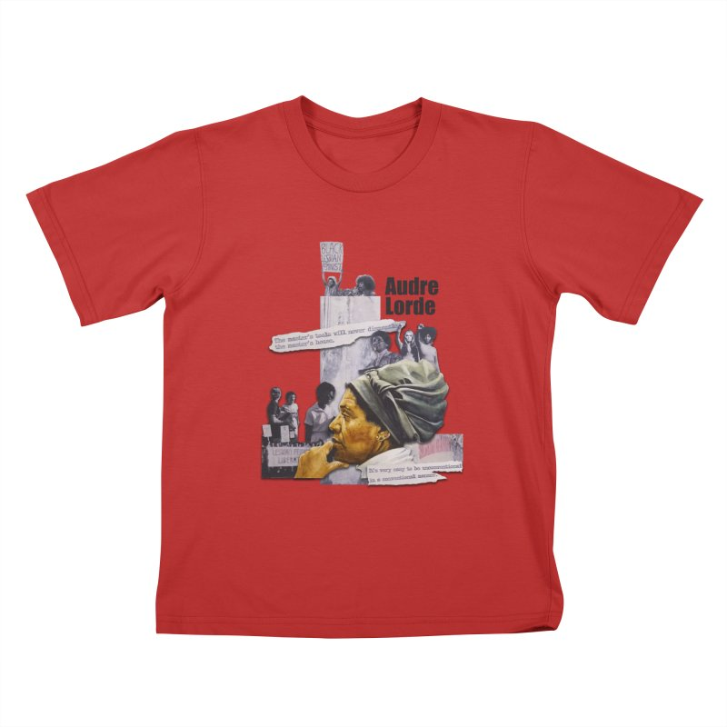 Audre Lorde Kids T-Shirt by Afro Triangle's