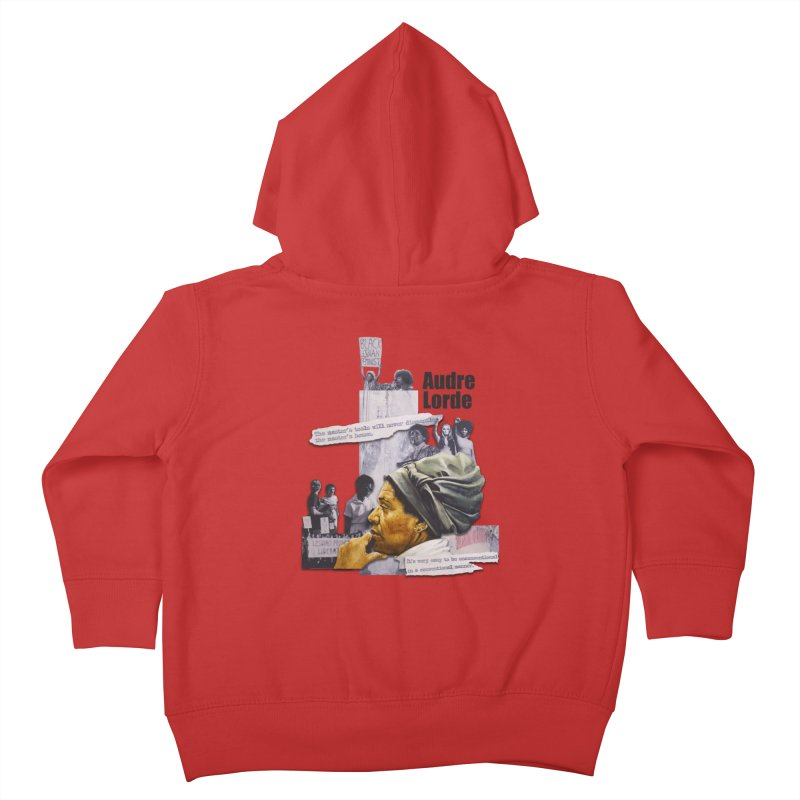 Audre Lorde Kids Toddler Zip-Up Hoody by Afro Triangle's