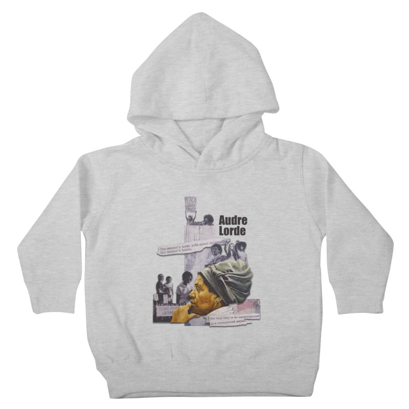 Audre Lorde Kids Toddler Pullover Hoody by Afro Triangle's