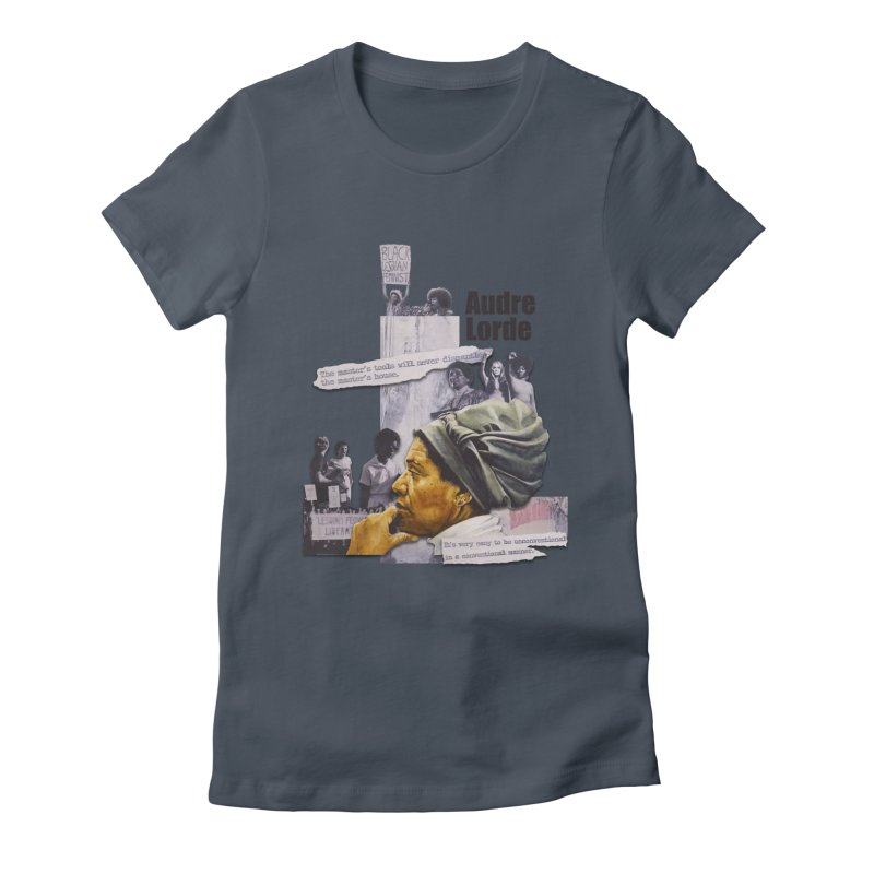 Audre Lorde Women's T-Shirt by Afro Triangle's