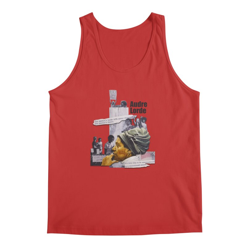 Audre Lorde Men's Regular Tank by Afro Triangle's