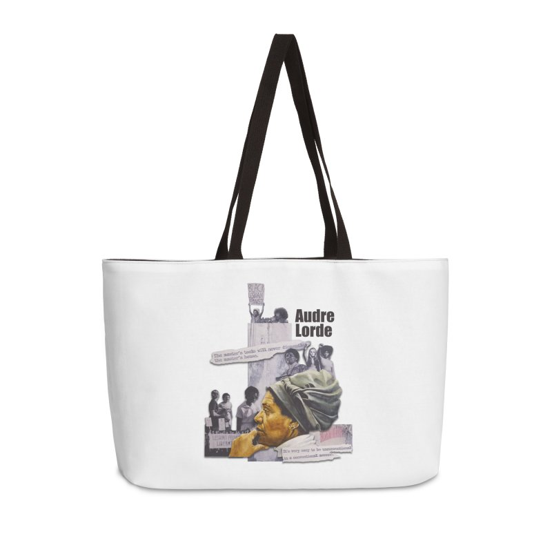 Audre Lorde Accessories Weekender Bag Bag by Afro Triangle's