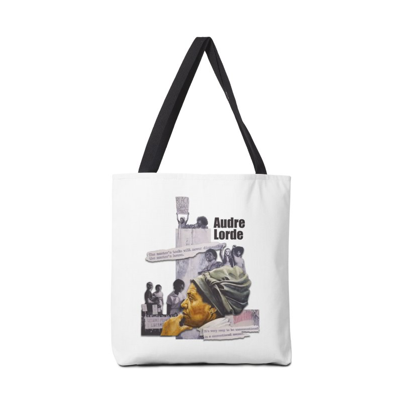 Audre Lorde Accessories Tote Bag Bag by Afro Triangle's