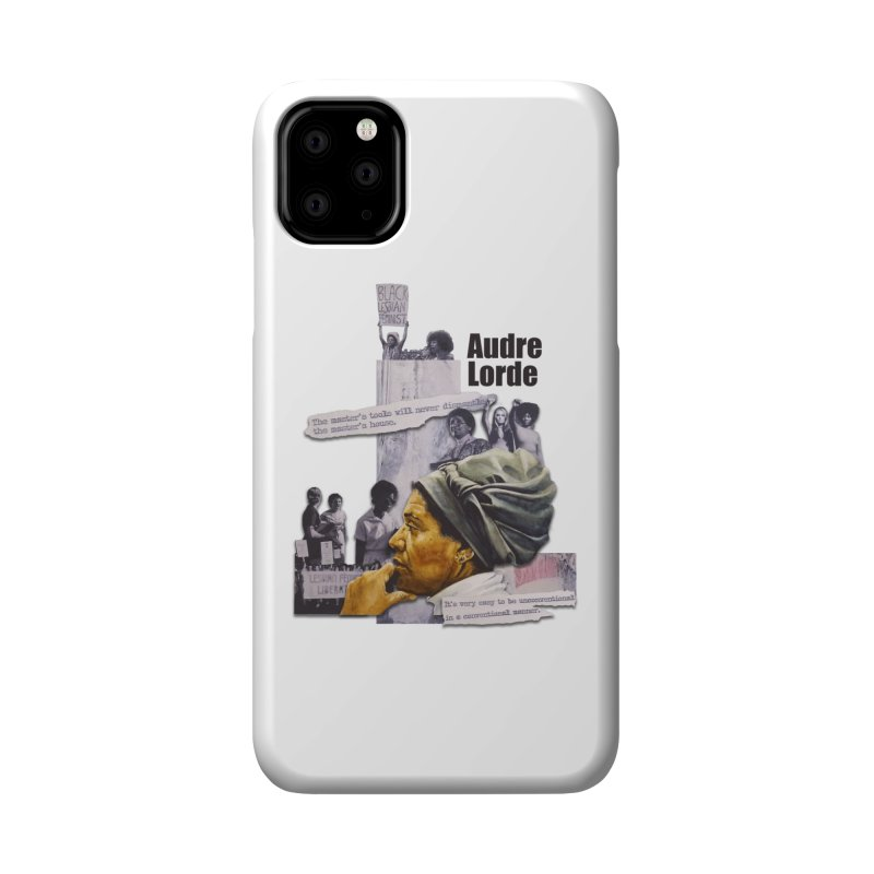 Audre Lorde Accessories Phone Case by Afro Triangle's