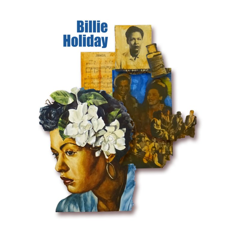 Billie Holiday Home Blanket by Afro Triangle's