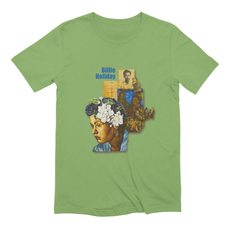 Billie Holiday Men's Extra Soft T-Shirt by Afro Triangle's