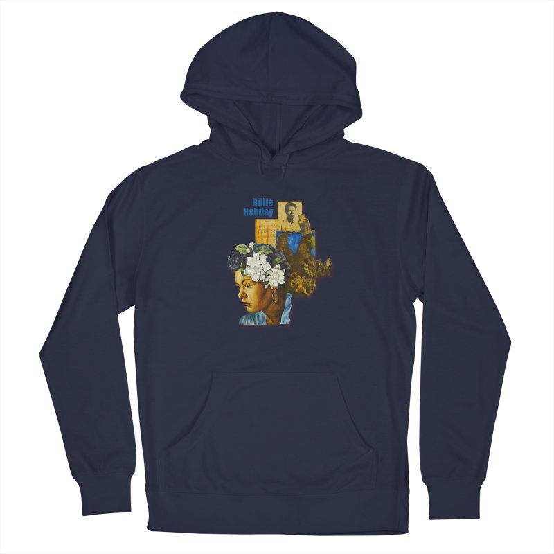 Billie Holiday Men's Pullover Hoody by Afro Triangle's