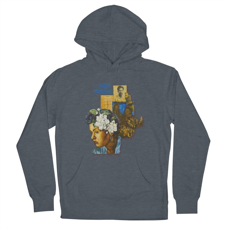 Billie Holiday Women's French Terry Pullover Hoody by Afro Triangle's