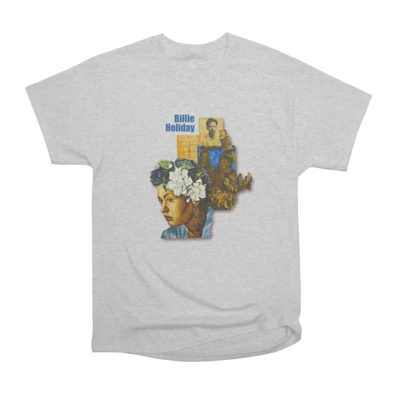 Billie Holiday Women's Heavyweight Unisex T-Shirt by Afro Triangle's