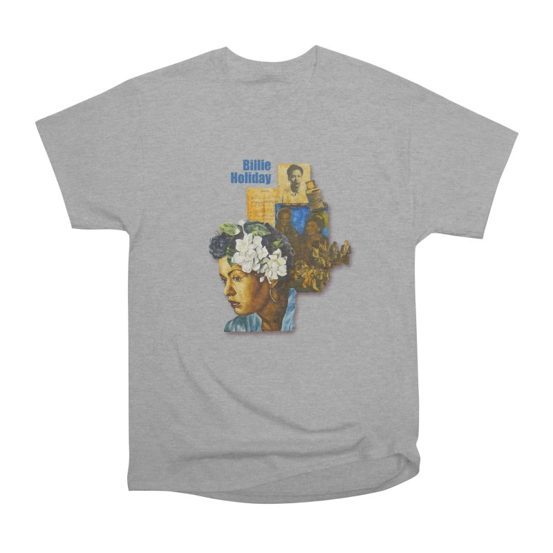 Billie Holiday Men's Heavyweight T-Shirt by Afro Triangle's