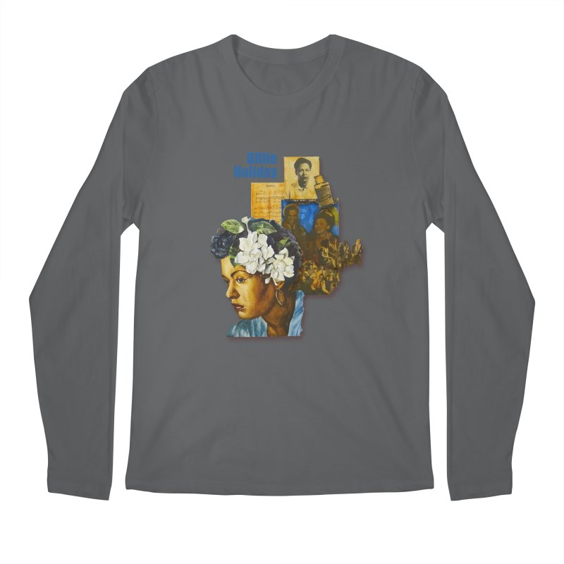 Billie Holiday Men's Longsleeve T-Shirt by Afro Triangle's