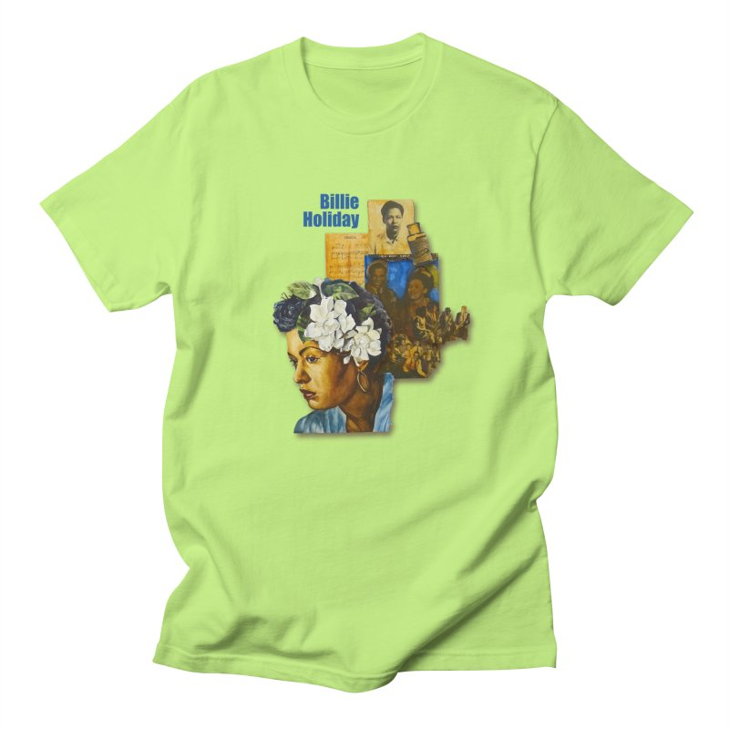 Billie Holiday Men's Regular T-Shirt by Afro Triangle's