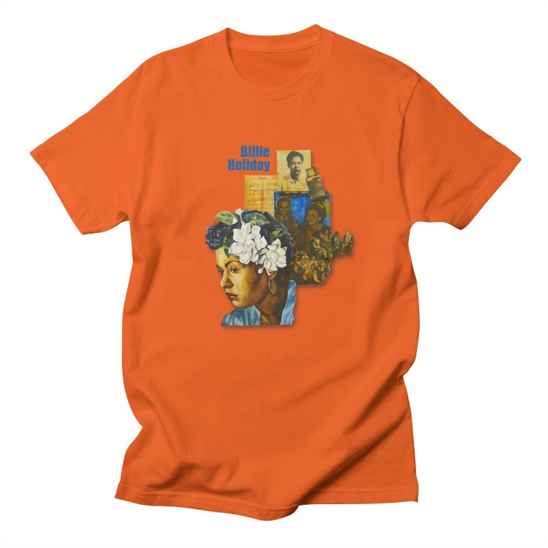 Billie Holiday Men's T-Shirt by Afro Triangle's