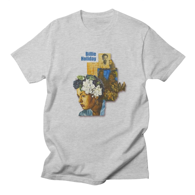 Billie Holiday Women's Regular Unisex T-Shirt by Afro Triangle's