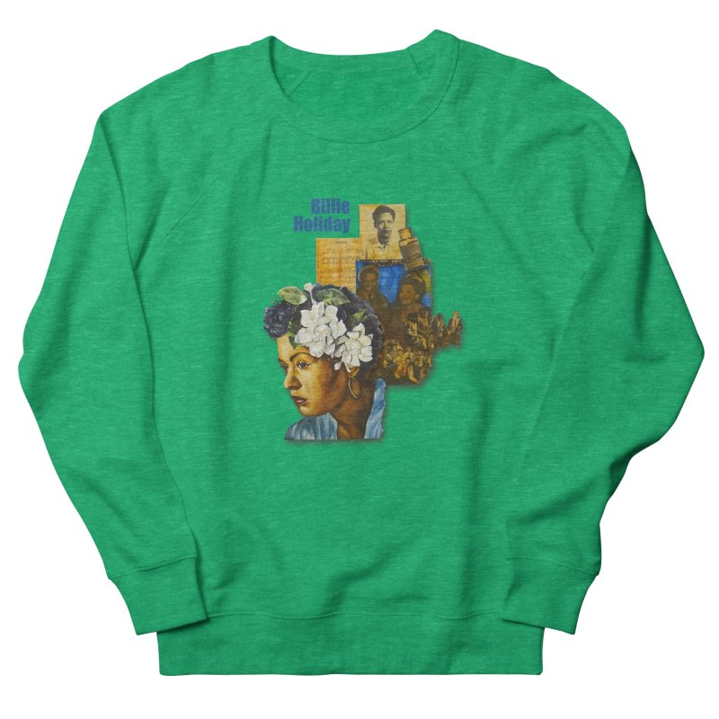 Billie Holiday Women's Sweatshirt by Afro Triangle's