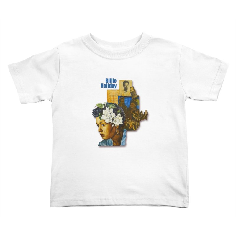 Billie Holiday Kids Toddler T-Shirt by Afro Triangle's