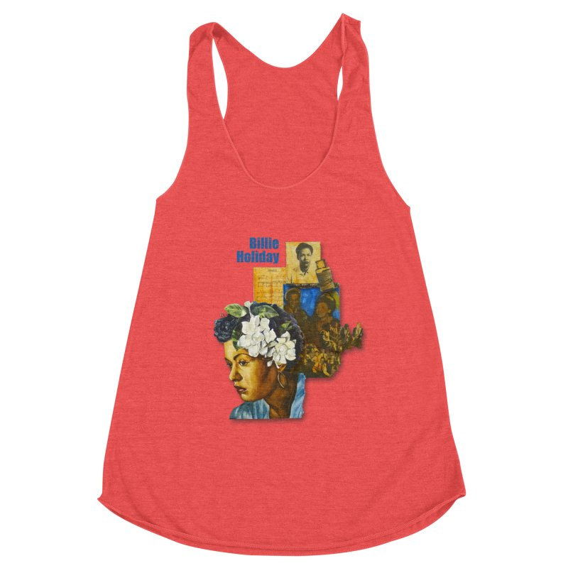 Billie Holiday Women's Tank by Afro Triangle's