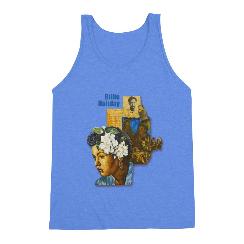 Billie Holiday Men's Tank by Afro Triangle's