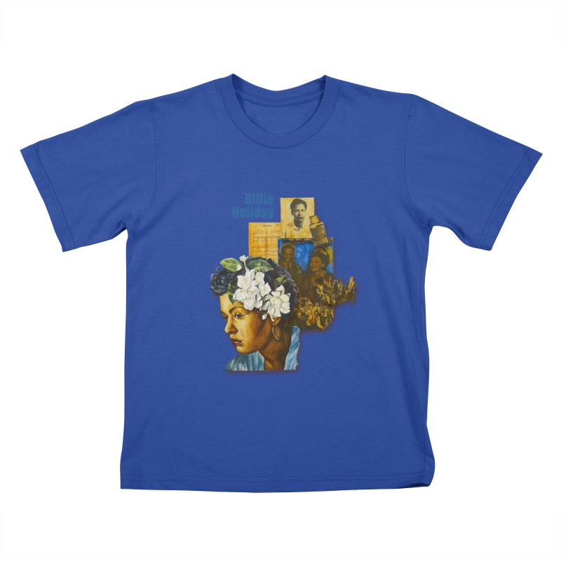 Billie Holiday Kids T-Shirt by Afro Triangle's