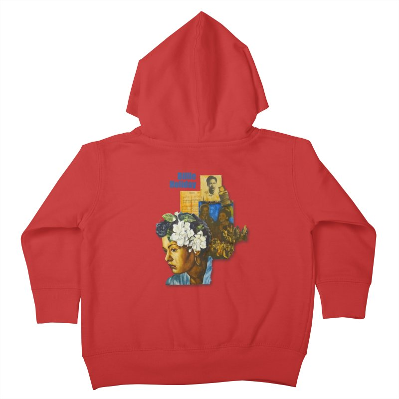 Billie Holiday Kids Toddler Zip-Up Hoody by Afro Triangle's