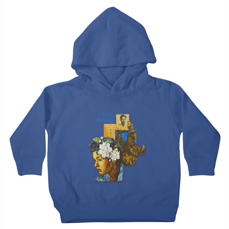 Billie Holiday Kids Toddler Pullover Hoody by Afro Triangle's