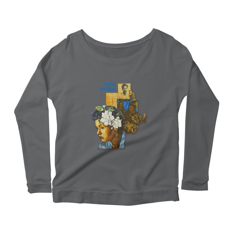 Billie Holiday Women's Longsleeve T-Shirt by Afro Triangle's