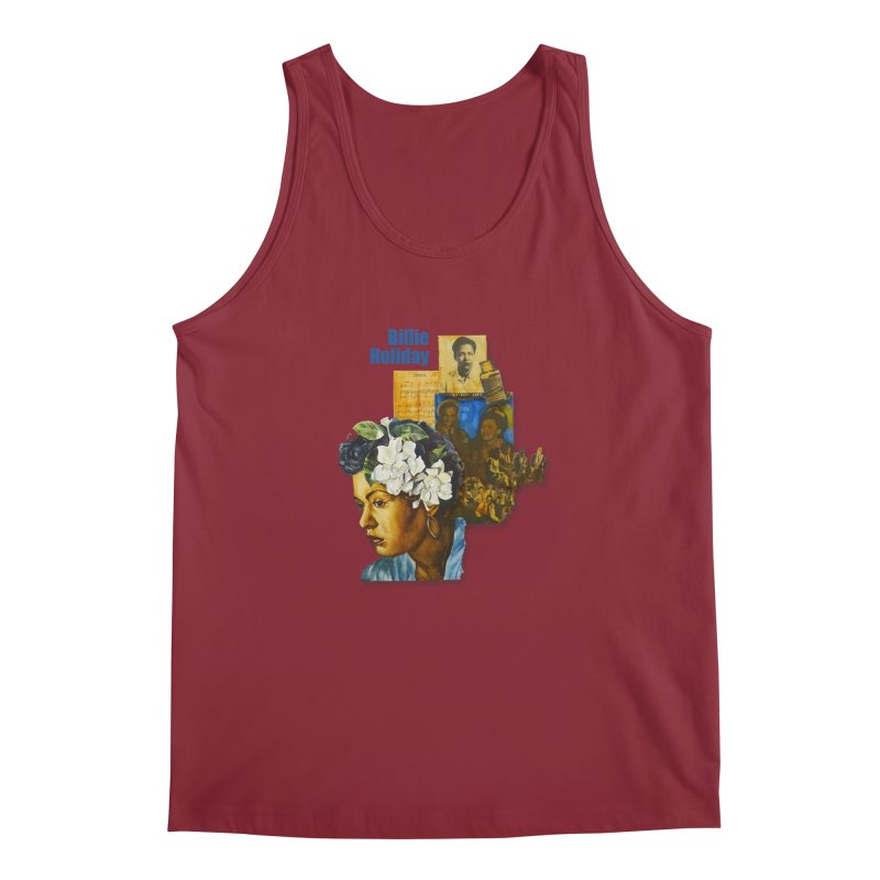 Billie Holiday Men's Regular Tank by Afro Triangle's